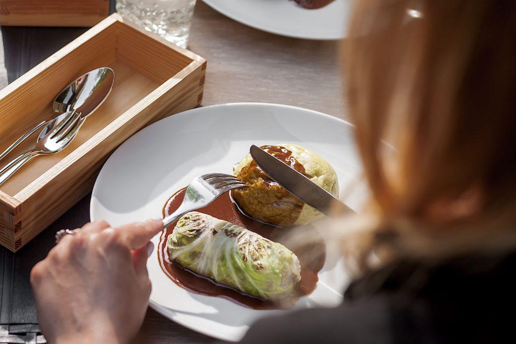 Gołąbek z Burgundii - Cztery Ściany, Restaurant Week, Łódź