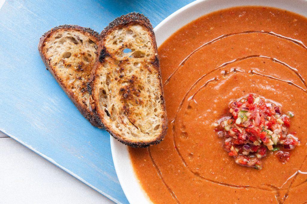 Gazpacho- Hiszpański chłodnik z pomidorów
