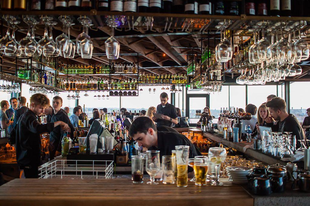 Sophie's Rooftop Bar - Bar, Restauracja w Dublinie