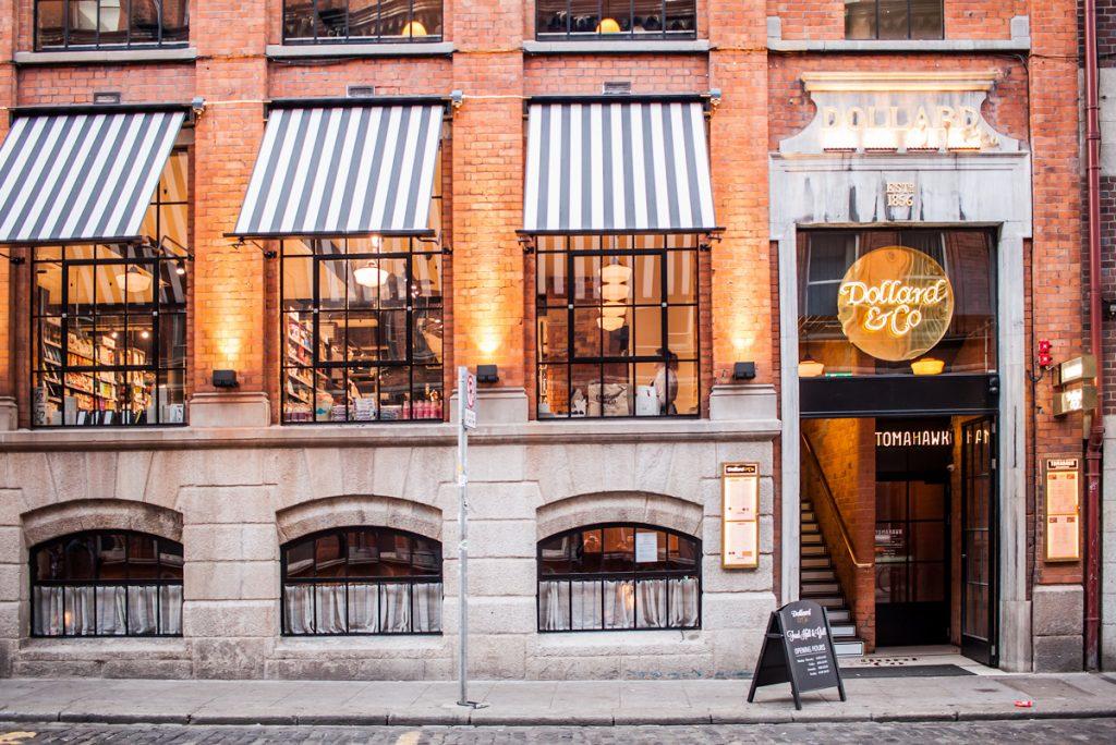 Dollard & Co Food Hall miejsce na śniadanie w Dublinie
