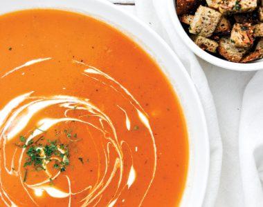 Zupa Krem ze Świeżych Pomidorów