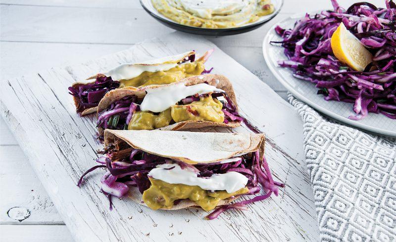 Meksykańskie Tacos z Szarpaną Wieprzowiną