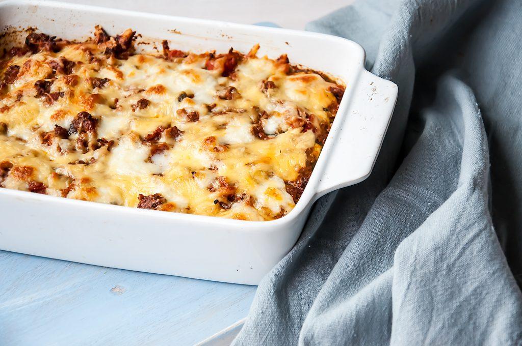 Lasagne z Bakłażanem i Cukinią