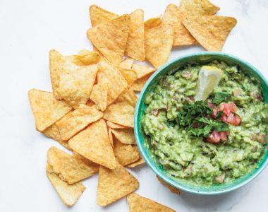 Klasyczne, Meksykańskie Guacamole – pasta z awokado