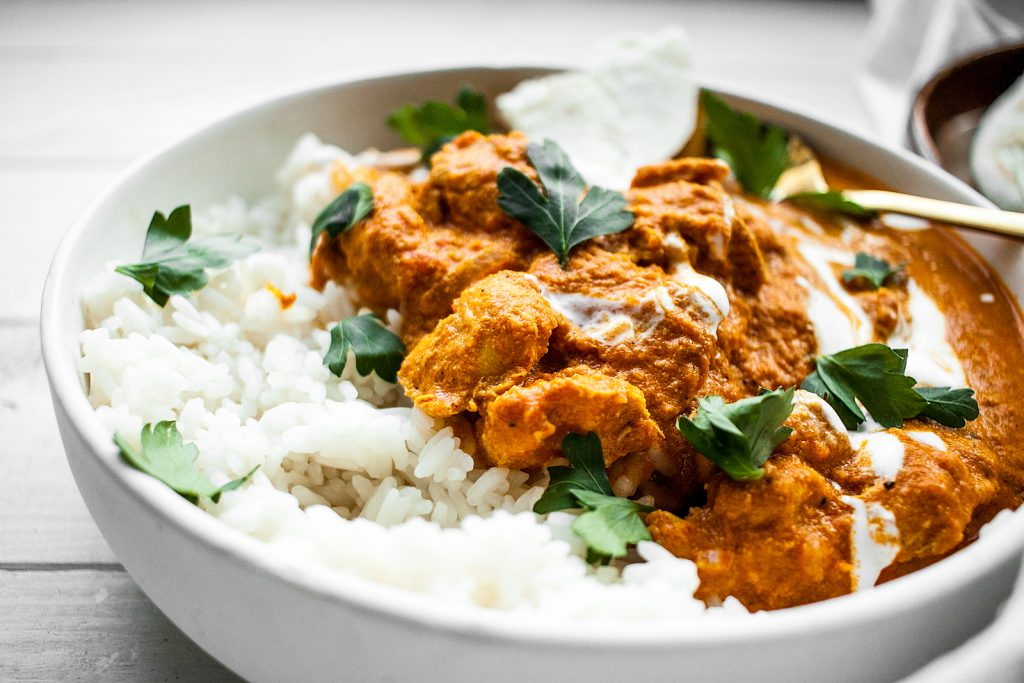Indyjski Kurczak Tika Masala - Chicken Tika Masala