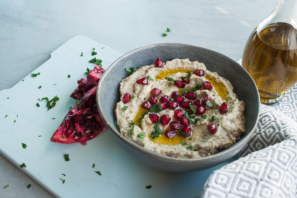 Baba Ganoush czyli Pasta z Pieczonego bakłażana