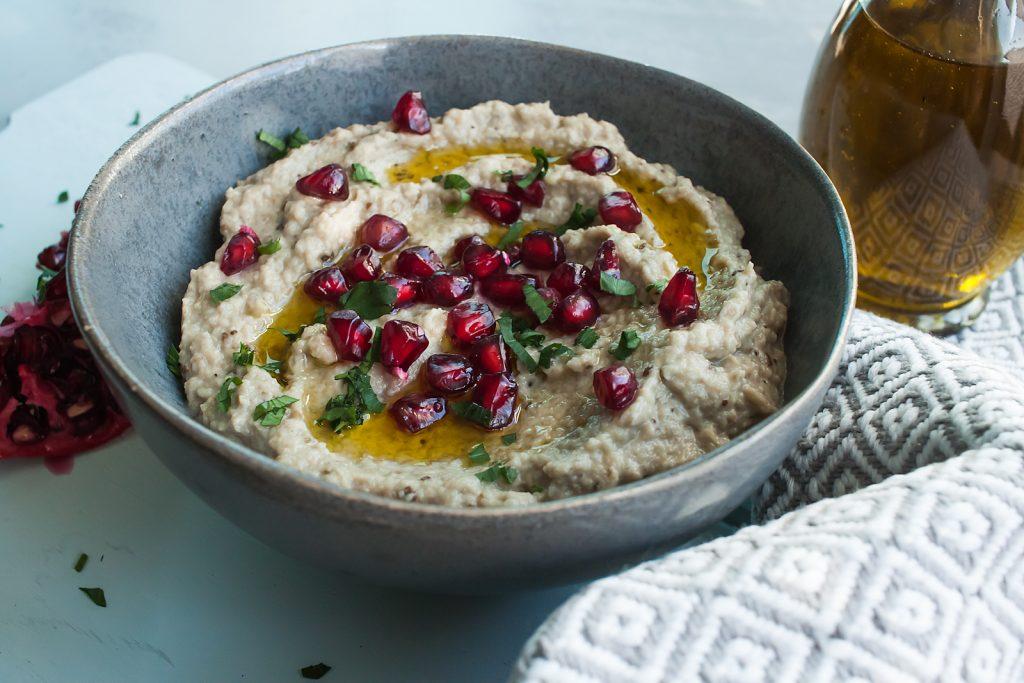 Pasta z Bakłażana czyli Arabskie Baba Ganoush