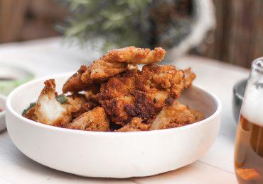 Wegańskie kurczaki z boczniaków – jak z KFC
