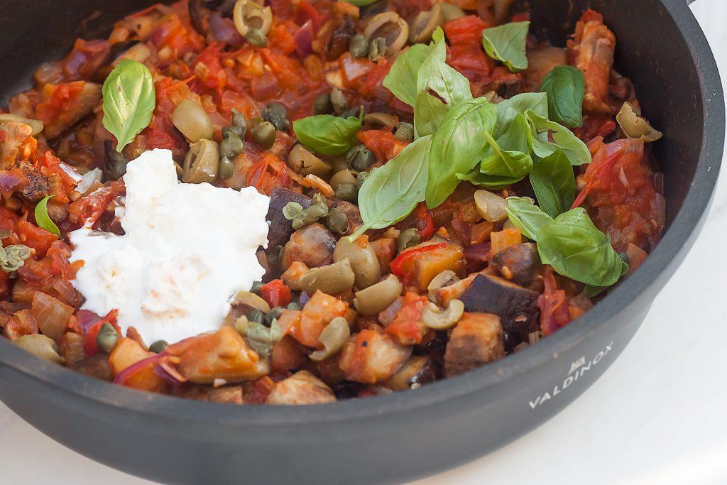 jak zrobić włoską caponatę czyli warzywny gulasz z bakłażanem