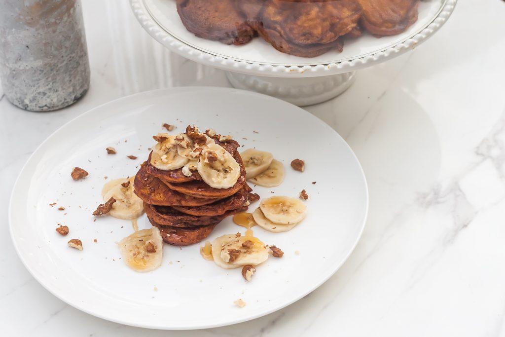 placki z dyni czyli amerykanskie pancakes z dyni