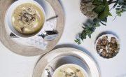 Kremowa Zupa Z Pieczonego Czosnku