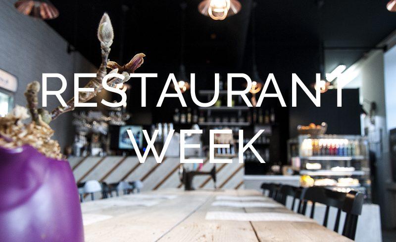 Restaurant Week, Łódź 2018