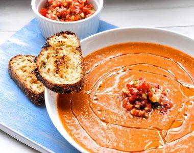 Gazpacho – Andaluzyjski chłodnik pomidorowy