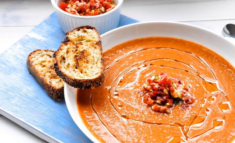 Gazpacho - Andaluzyjski chłodnik pomidorowy