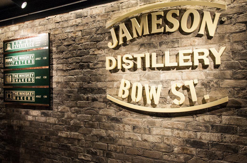 Destylarnia Jameson Dublin Logo