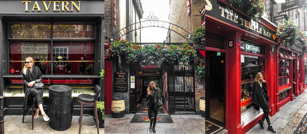Dzielnica Temple Bar Irlandia Dublin