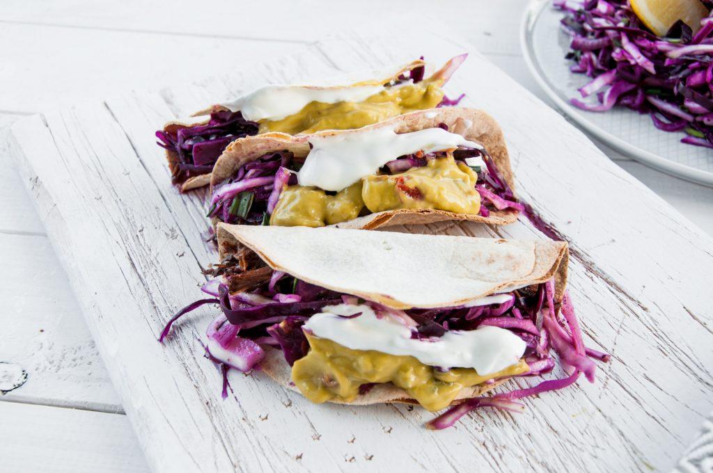 Tacos z Szarpaną Wieprzowiną