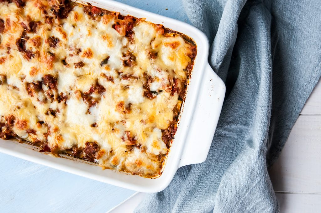 Włoskie Lasagne z Bakłażanem i Cukinią