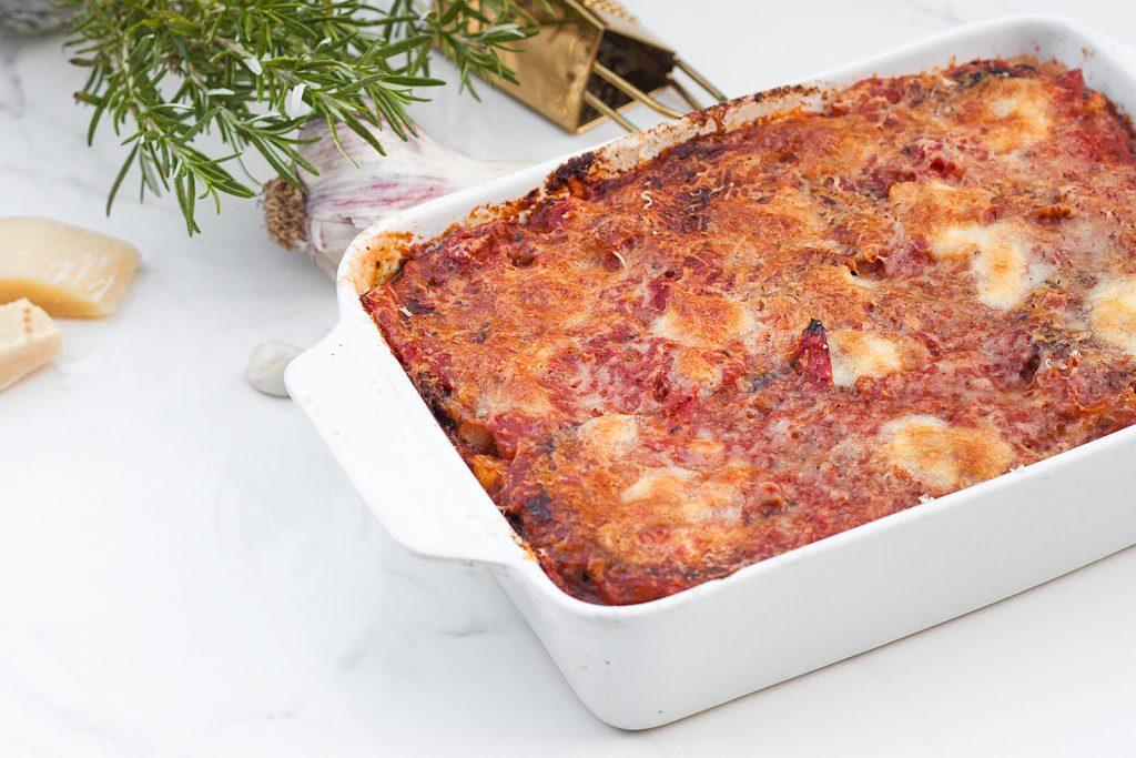 włoska parmigiana czyli zapiekanka z bakłażana