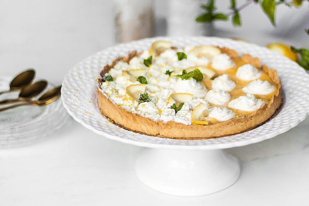 ciasto cytrynowe lemon curd z mascarpone
