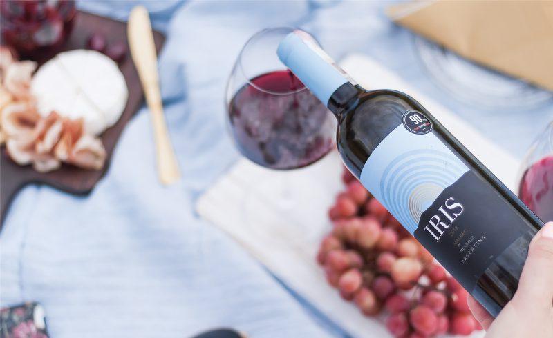 recenzja czerwonego wina malbec iris - argentyna