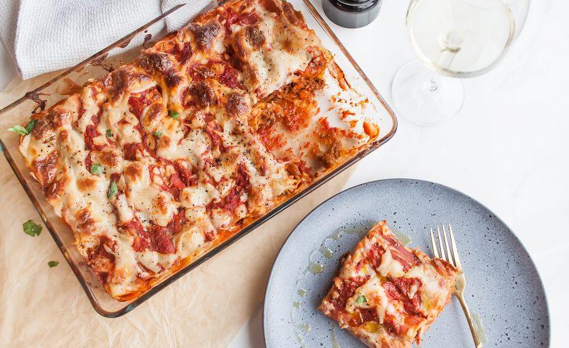 cannelloni czyli faszerowany makaron z miesem mielonym