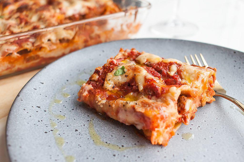cannelloni faszerowane wolowiną