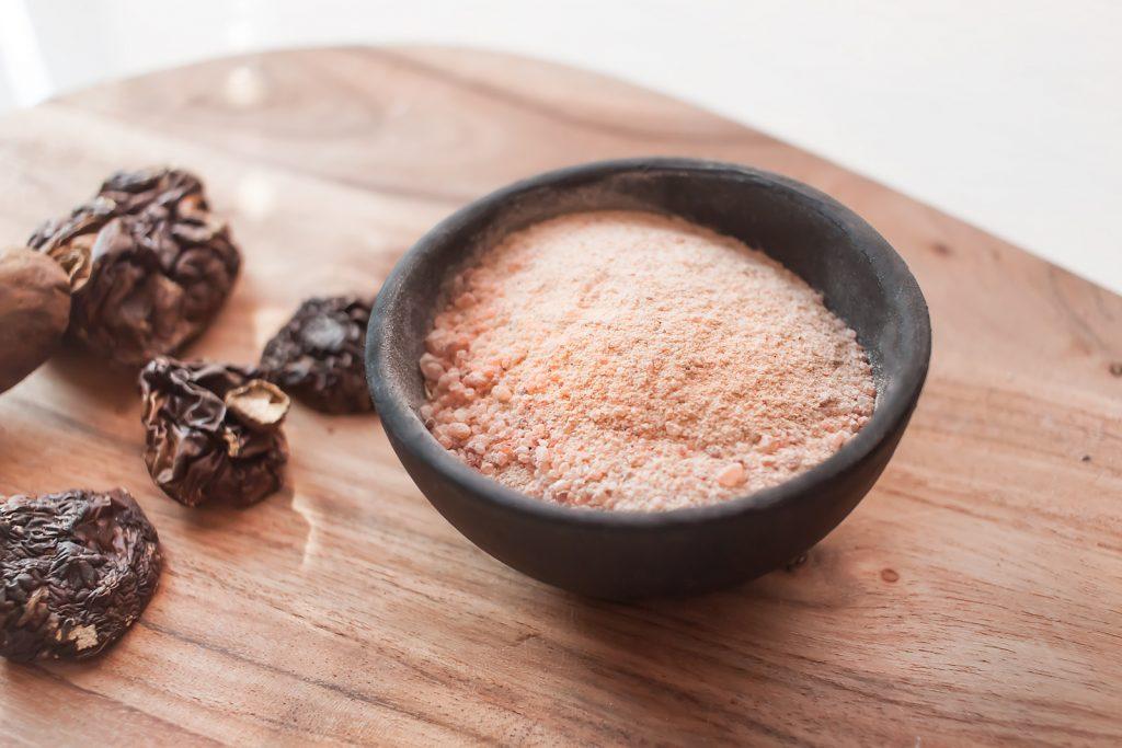 domowa sol smakowa- grzybowa