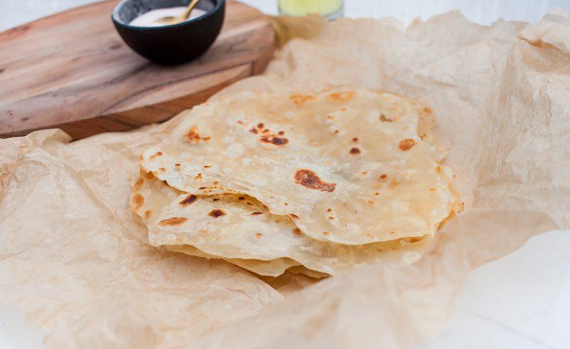 jak zrobić domową tortillę pszenną?