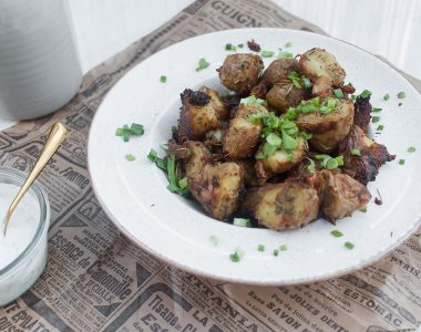 Chrupiące z zewnątrz i miękkie w środku pieczone ziemniaki